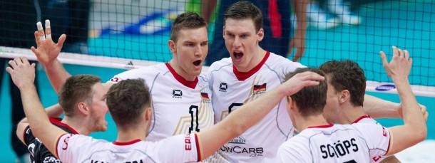 Teamplayer: deutsche Volleyball-Nationalspieler