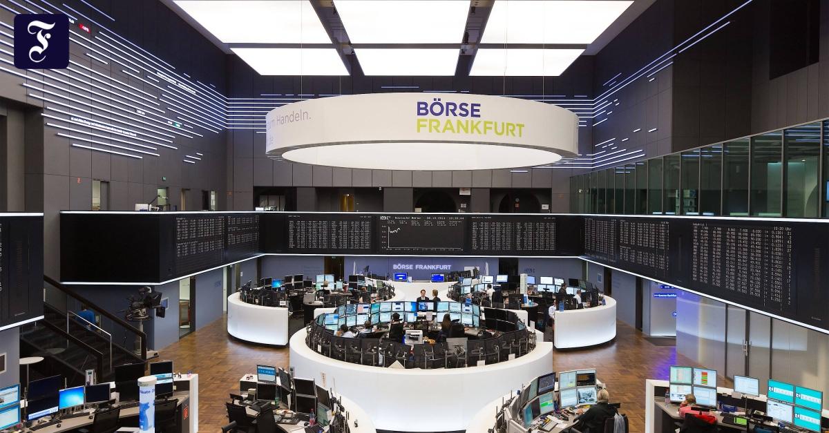 Börsenmantel jetzt auch in Frankfurt - FAZ - Frankfurter Allgemeine Zeitung