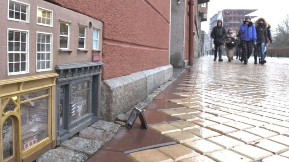 Mini-Häuser für Mäuse verzaubern Malmö