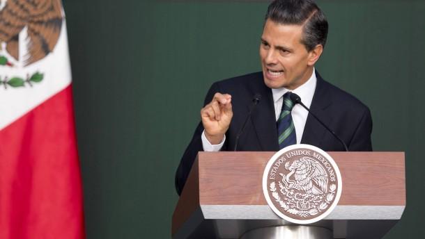 Mexikos Präsident baut Sicherheitsbehörden um