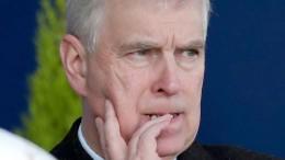 Prinz Andrew legt öffentliche Aufgaben nieder