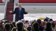Donald Trump auf der Jagd nach dem verlorenen Wähler