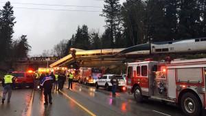 Mehrere Tote bei Bahnunglück an Amerikas Westküste