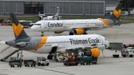 Einen Überbrückungskredit von 400 Millionen Euro soll Condor von staatlicher Seite zur Verfügung gestellt werden.