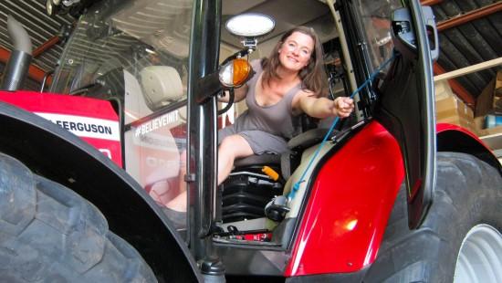 Mit dem Traktor zum Südpol