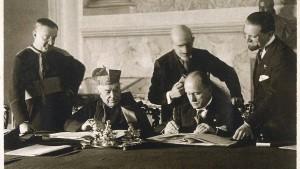 Was macht eigentlich Mussolini?