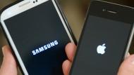 Apple und Samsung streiten nicht mehr