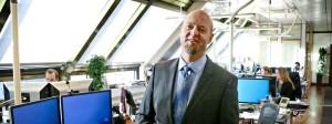 Yngve Slyngstad, Chef des norwegischen Staatsfonds, kritisiert zu hohe Gehälter für Manager.