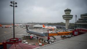 Drohne am Flughafen Tegel gesichtet