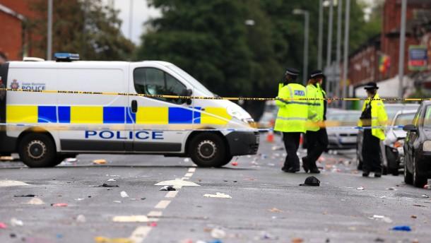 Zehn Verletzte durch Schüsse in Manchester