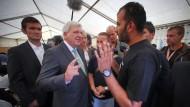 Bouffier erwartet eine Million Asylsuchende