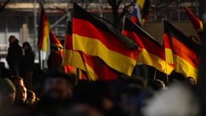 Als ich die deutsche Fahne hisste