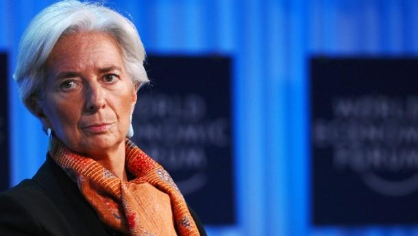Hausdurchsuchung bei IWF-Chefin Lagarde