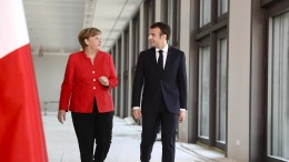 Macron visionär, Merkel kompromissbereit