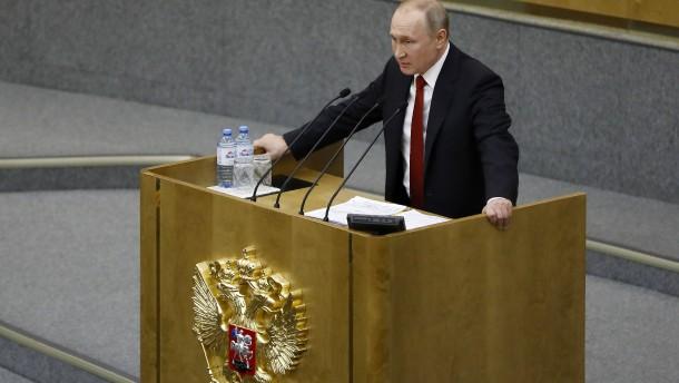 Putin schließt erneute Amtszeit nicht aus