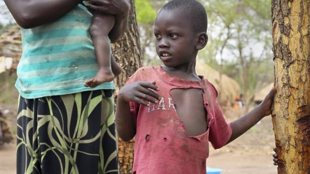 Zwei Millionen Kinder auf der Flucht