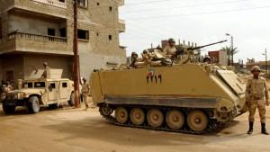 Armee tötet auf Sinai zahlreiche Islamisten