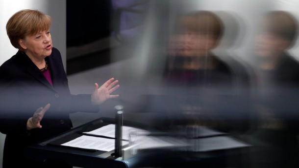 Krim-Krise schweißt große Koalition zusammen