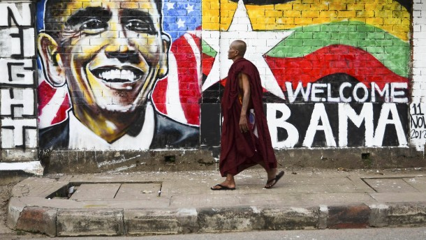 Myanmar Obama