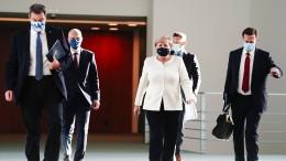 Merkel will neuen Shutdown auf jeden Fall verhindern