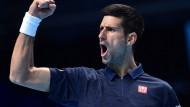 Djokovic sammelt Selbstvertrauen