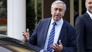 Akinci bringt Zweistaatenlösung für Zypern ins Spiel