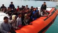 4000 Einwanderer in zwei Tagen