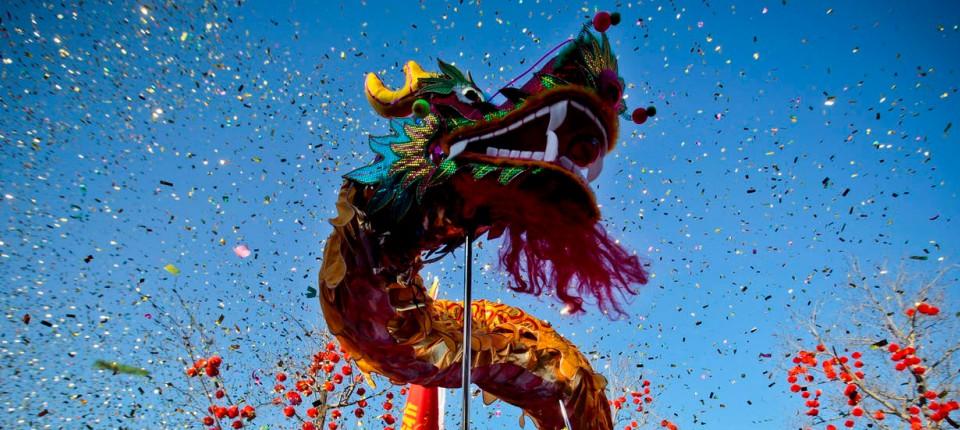 Chinesisches Neujahrsfest: Die Drachen vermehren sich stark ...
