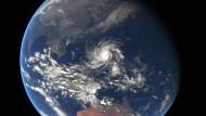"""War zwischenzeitlich größer als """"Haiyan"""": Taifun """"Hagupit"""""""