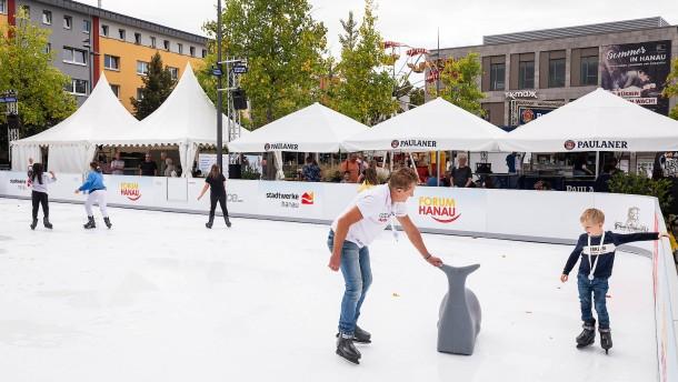 Eislaufen im Sommer