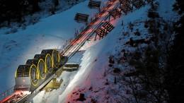 Die steilste Seilbahn der Welt
