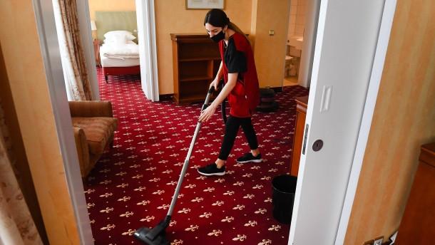 Ärztegewerkschaft für Quarantäne in Hotels