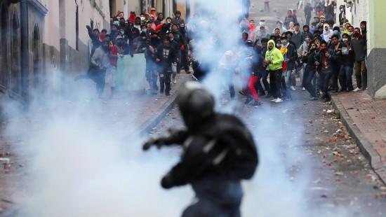 Unruhen in Ecuador halten an