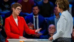 Die Kramp-Karrenbauer-Show