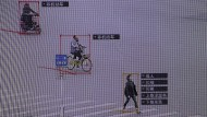Gerastert und verfolgt: So demonstrierte Sensetime seine Software vergangenen Oktober in Peking.