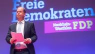 Landesvorsitzender Joachim Stamp im April beim FDP-Landesparteitag