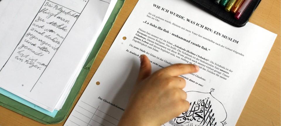 Streit Um Islam Unterricht Freiheit Und Bindung Im