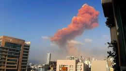 Verletzte und große Schäden nach Explosion in Beirut