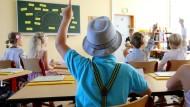 Grundschulkinder in Mecklenburg-Vorpommern