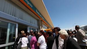 Zyperns Banken sind schon fast wieder leer