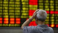 Chinas Kurse stürzen ab