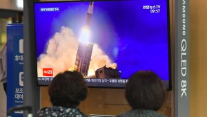 Nordkoreanische Rakete erreicht japanische Gewässer