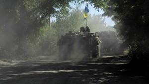 Kiew spricht von mehr als 150 Toten bei Gefechten