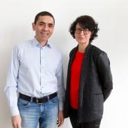 Özlem Türeci und ihr Mann Ugur Sahin
