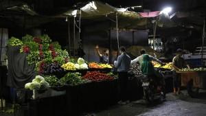 Syrer in der Provinz Idlib feiern islamisches Opferfest