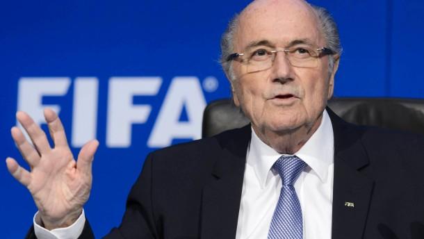 Blatter muss bleiben!