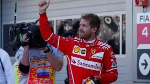 Ferraris Ritt auf der Welle