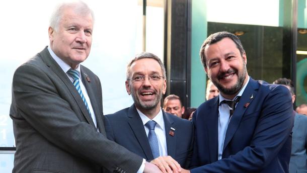 Seehofer geht optimistisch in die Konferenz der EU-Innenminister