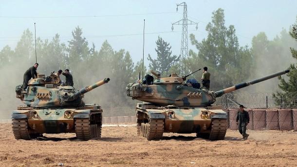 Türkei attackiert Kurden in Nordsyrien
