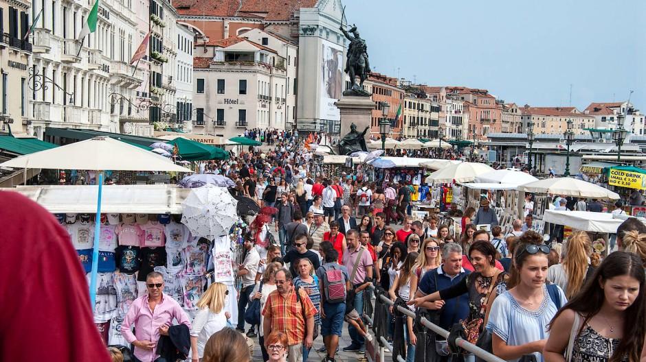 Touristenmagnet: Bald werden sich wieder die Menschenmassen durch Venedig schieben.